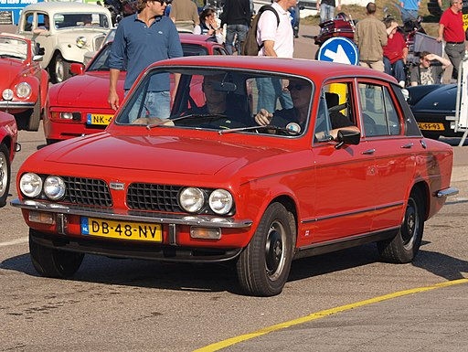 Triumph DOLOMITE 1850 HL dutch licence registration DB-48-NV pic3