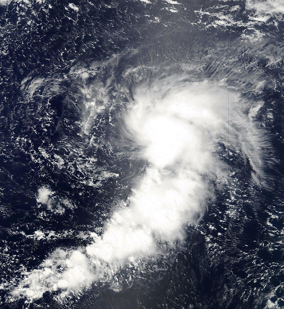 Tropical Storm Chanchu (29 july 2000)