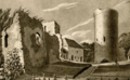 Turaida Castle in 1810.png