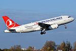 Turkish Airlines, TC-JLM, Airbus A319-132 (15833841704) (2).jpg
