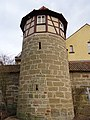 Turm bei Schlossplatz 4, Bad Rodach.JPG