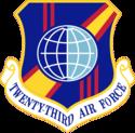 Twenty-Third Air Force - Emblem