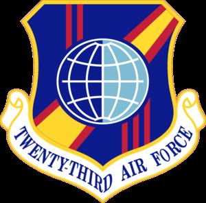 Twenty-Third Air Force - Image: Twenty Third Air Force Emblem