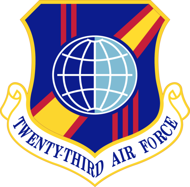 File:Twenty-Third Air Force - Emblem.png