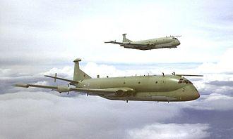Hawker Siddeley Nimrod R1 - A pair of Nimrod R1s in formation