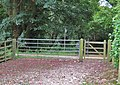 Two gates - geograph.org.uk - 1539321.jpg