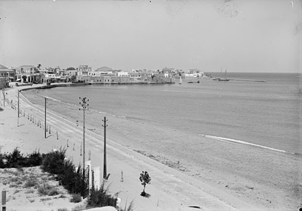 The Northern shore in 1936, photographed by a member of the American Colony in Jerusalem Tyre along the N. shore. LOC matpc.03553.jpg