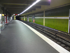 Stephansplatz (Hamburg U-Bahn station) - Image: U Bahnhof Stephansplatz in Hamburg 1