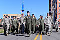 U.S. Airmen stationed at Seymour Johnson Air Force Base march in a Veterans Day parade in Goldsboro, N.C., Nov. 11, 2013 131111-F-YG094-269.jpg