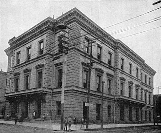 Ammi B. Young - Image: U.S. Custom House and Post Office, Mobile, AL