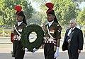 U.S. Defense Secretary Robert M. Gates walks towards Amar Jawan Jyoti.jpg