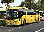 UN3191 Hong Kong Disneyland Resort shuttle bus 17-04-2019.jpg