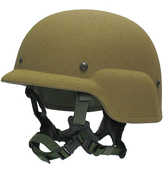 Lightweight Helmet - USMC Lightweight Helmet in brown color