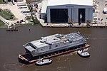 USNS-Brunswick (JHSV-6) en Austal Usono en majo 2015.JPG