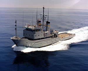 USNS Narragansett (T-ATF 167) underway