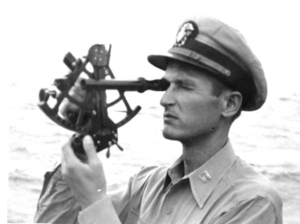USS-Audubon Signal-Bridge Lt-Lakusta-Ship-Navigator 1945.png