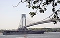 USS Bataan passes under the Verrazano Narrows Bridge and into New York City harbor during the Fleet Week Ship Parade, May 25, 2016 - 052516-A-HZ560-002.jpg