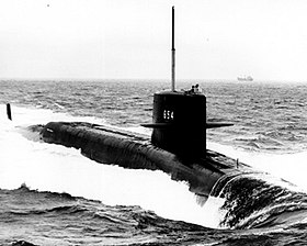 Image illustrative de l'article USS George C. Marshall (SSBN-654)