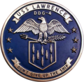 USS Lawrence (DDG-4) plaque from 1962.png