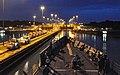 USS Rentz enters the Gatun Locks. (9824459276).jpg