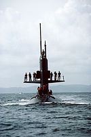 USS Scamp (SSN-588) bow on view.jpg