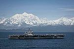 USS Theodore Roosevelt (CVN-71) underway in the Gulf of Alaska on 25 May 2019 (190525-N-XC372-1079).JPG