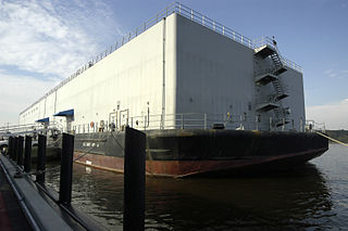 Barracks ship ship type serving as berthing for personnel