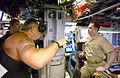 US Navy 050512-N-1234K-001 Paul Teutul Sr., of American Chopper, looks through one of USS Albuquerque's (SSN 706) periscopes.jpg