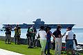 US Navy 060515-N-5328N-153 Oriskany is towed to sea from Naval Air Station Pensacola.jpg