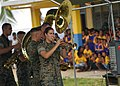 US Navy 070903-N-9421C-071 U.S. Marine Forces Pacific Band performs for students at Delap Elementary School.jpg