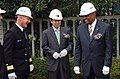 US Navy 071025-N-0021M-002 Thomas S. Rowden, commander of U.S. Naval Forces Korea, Seo Jung Sok, President of Fine Construction Co. Ltd., and the Honorable B.J. Penn, the Assistant Secretary of the Navy (Installations and Envir.jpg