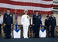 US Navy 071130-N-8623G-042 Gen. T. Michael Moseley, Adm. Timothy J. Keating, Gen. Paul V. Hester, and Gen. Carrol H.jpg