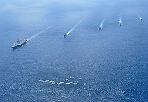 Carrier Strike Group 11 - CSG 11 in South China Sea (15 Feb. 2010)