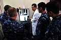 US Navy 110618-F-NJ219-089 Medical personnel embarked aboard the Military Sealift Command hospital ship USNS Comfort (T-AH 20).jpg