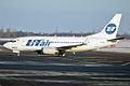 UTair, VP-BXR, Boeing 737-524 (16454510981).jpg