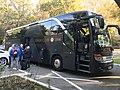 Udinese Calcio team bus 20191013.jpg