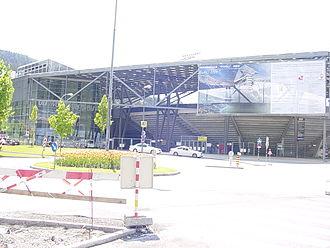 2011 IFAF World Championship - Image: Umbau Tivoli Neu