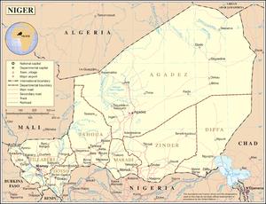 History of Niger - Modern Niger.