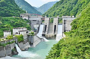 Unazuki Dam and Unazuki Power Station.jpg