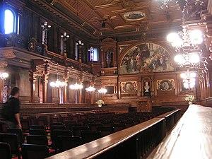 Eugen Rosenstock-Huessy - Old Assembly Hall, University of Heidelberg