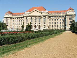 Debrecen City with county rights in Northern Great Plain, Hungary