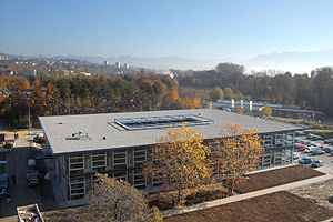 HEC Lausanne - Extranef, main building of the Executive Education