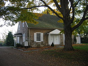 Upper Dublin Township, Montgomery County, Pennsylvania - The Upper Dublin Friends Meeting House, built in 1814.