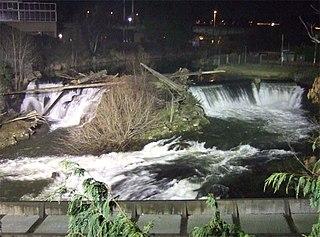 Tumwater Falls Waterfall in Washington (state), United States
