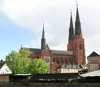Archbishop of Uppsala - Uppsala Cathedral, seat of the Archbishop of Uppsala.