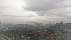 Cangnan County - Urban Area in Rain Lingxi Cangnan