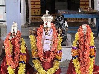 Mopidevi Village in Andhra Pradesh, India
