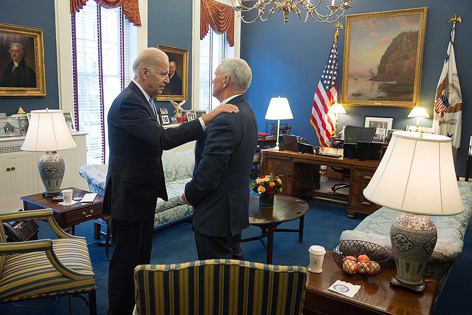 VP Biden with Pence