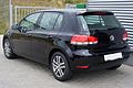 VW Golf VI 1.4 Comfortline Deep Black Heck.JPG
