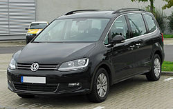 VW Sharan 2.0 TDI BlueMotion (2010–2015)